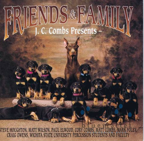 J.C.Combs - Friends and Family (CD)