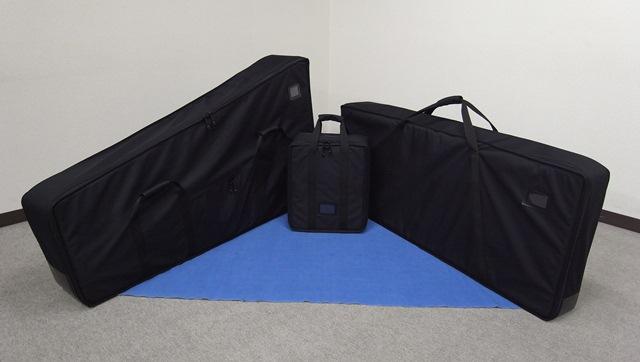 BMO Vibraphone Bag Set MUS-SET-M55 (Musser M55シリーズ用) 【お取り寄せ商品】