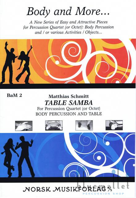 Schmitt , Matthias - Table Samba (スコア・パート譜セット)