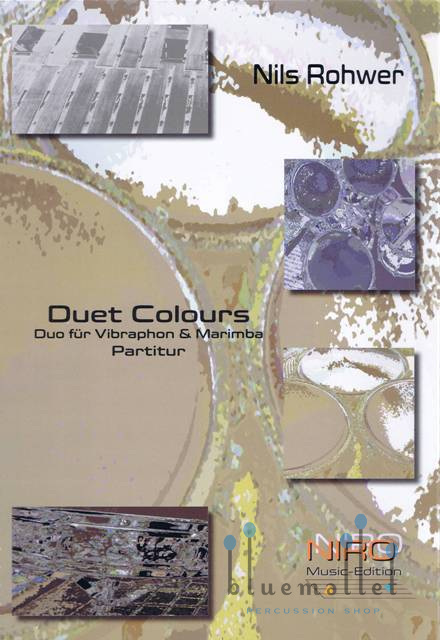 Rohwer , Nils. - Duet Colours (スコア・パート譜セット)