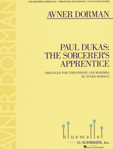 Dukas-The Sorcerer's Apprentice arr. Dorman (スコア2冊セット)