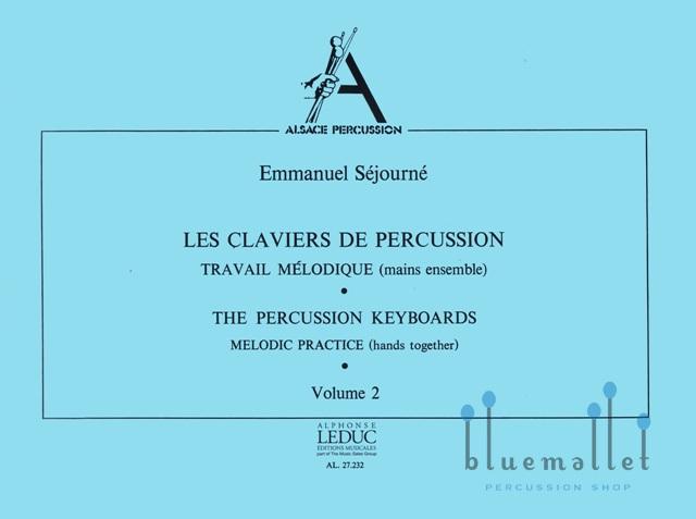 Sejourne , Emmanuel - Les Claviers de Percussion Volume 2 (特価品)