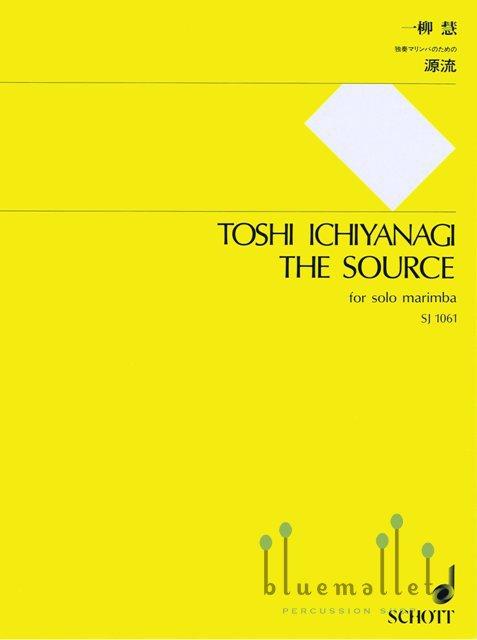 Ichiyanagi , Toshi - The Source  for Solo Marimba