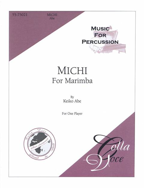Abe , Keiko - Michi for Marimba (特価品)
