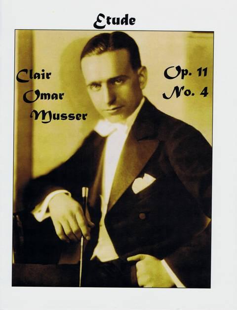 Musser , Clair Omar - Etude op.11 No.4 (特価品)