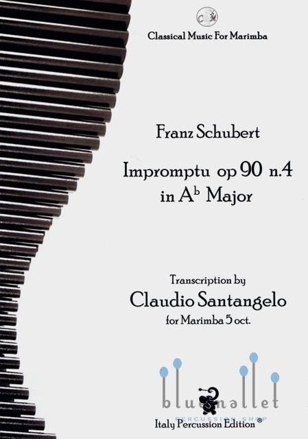 Schubert , Franz Peter - Impromptu op.90 n.4 in Ab Major (trans. by Claudio Santangelo)