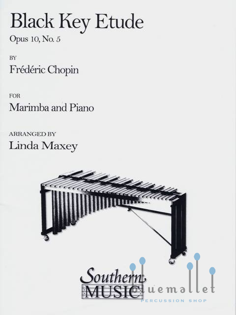 Chopin , Frederic - Black Key Etude Arranged by Linda Maxey (スコア・パート譜セット)