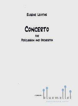 Levitas , Eugene - Concerto for Percussion (Piano伴奏版)