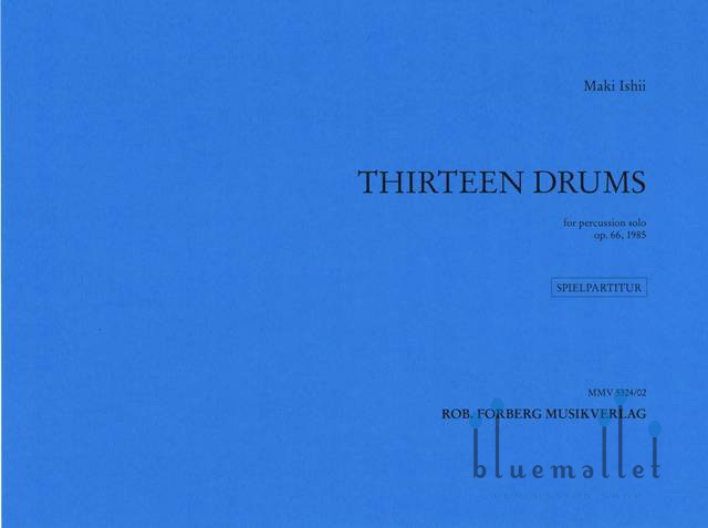 Ishii , Maki - Thirteen Drums