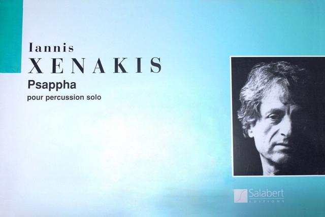 Xenakis , Iannis - Psappha pour Percussion  Solo