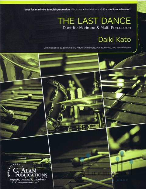 Kato , Daiki - The Last Dance Duet for Marimba and Percussion (スコア・パート譜セット)