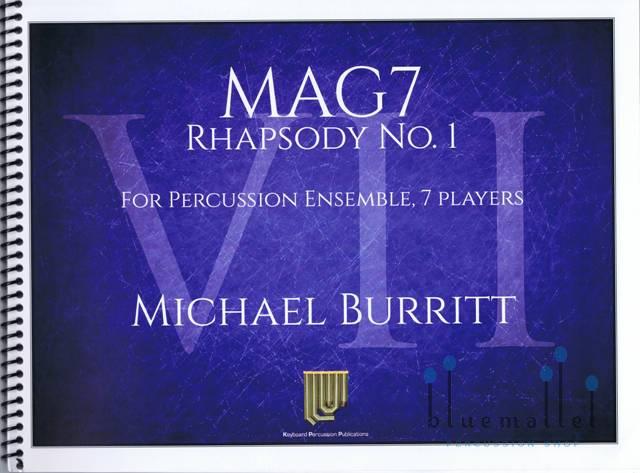 Burritt , Michael - MAG7 Rhapsody No. 1 (スコア・パート譜セット) (特価品)