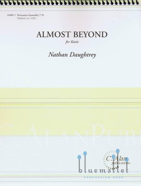 Daughtrey , Nathan - Almost Beyond (スコア・パート譜セット)