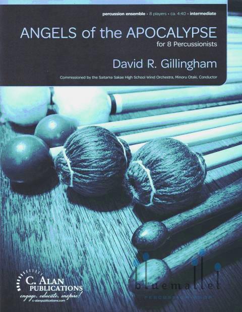 Gillingham , David R. - Angels of the Apocalypse (スコア・パート譜セット)
