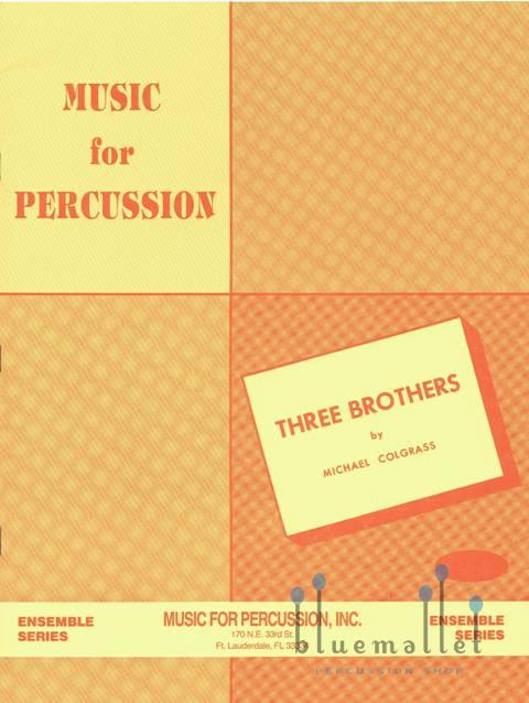 Colgrass , Michael - Three Brothers (スコア・パート譜セット)