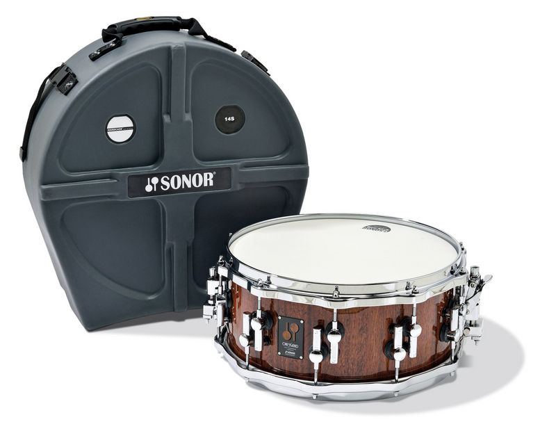 Sonor Snare Drum One Of A Kind - Red Tigerwood OOKA13-14625SDWD #RDTW