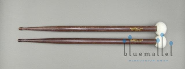 Kolberg Two-head Mallets Stick Peinkofer Z2Z RW + Wool Felt Hard (特価品)