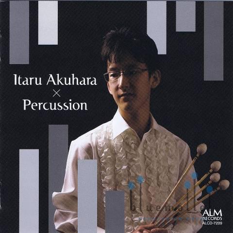 Akuhara , Itaru - Itaru Akuhara x Percussion (CD)