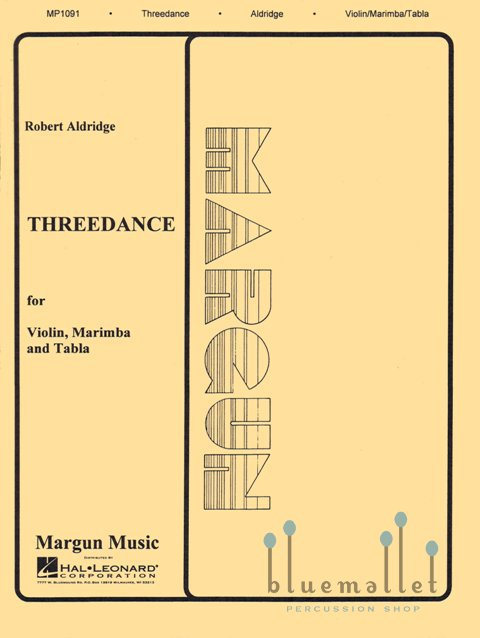 Aldridge , Robert - Threedance (スコア・パート譜セット)
