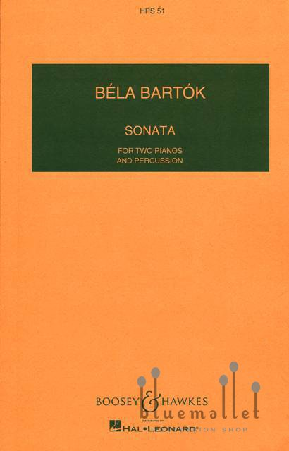 Bartok , Bela - Sonata for Two Piano & Percussion (スコアのみ)