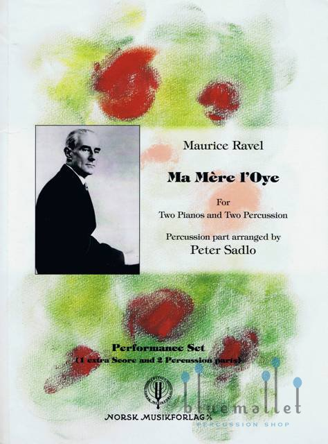 Ravel , Maurice - Ma Mere L'Oye arranged by Peter Sadlo (スコア・パート譜セット)