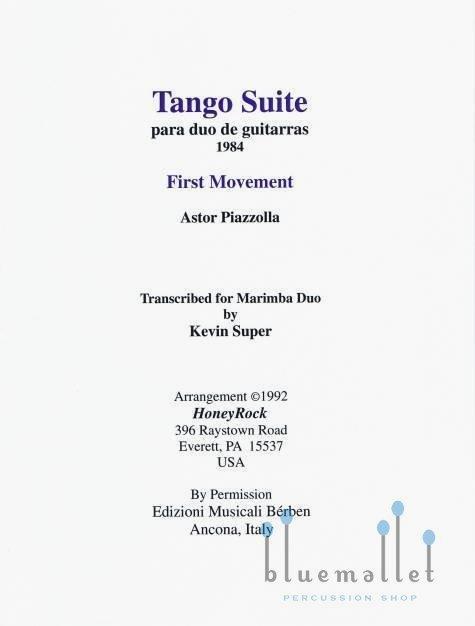 Piazzolla , Astor - Tango Suite Movement I  para Duo de Guitarras (スコア・パート譜セット) (特価品)