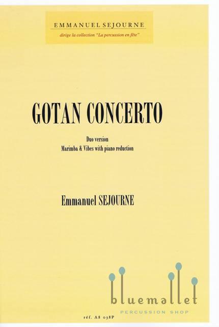 Sejourne , Emmanuel - Gotan Concerto Duo Version : Vibes, Marimba & Percussion Ensemble (スコア・パート譜セット)