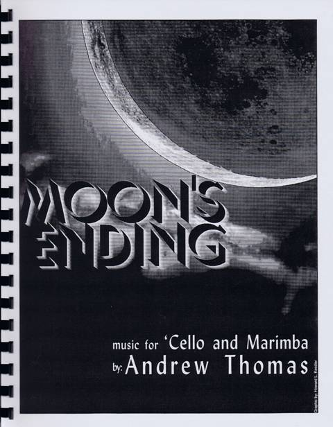Thomas , Andrew - Moon's Ending (パート譜のみ)