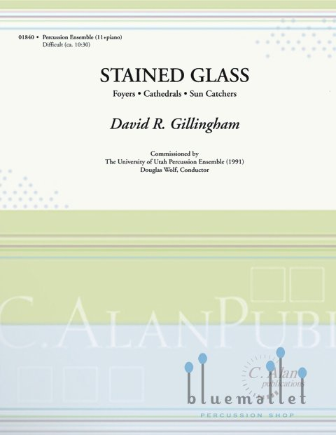 Gillingham , David R. - Stained Glass (スコア・パート譜セット)