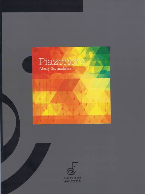 Gerassimez , Alexej - Piazonore (スコア・パート譜セット) (特価品)