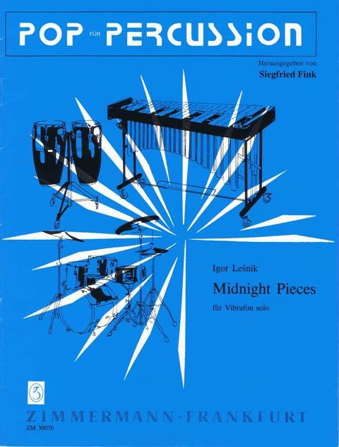 Lesnik , Igor - Midnight Pieces fur Vibrafon Solo (特価品)