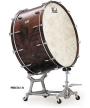 Pearl Concert Bass Drum PBB3618 【お取り寄せ商品】