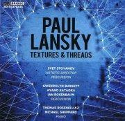 Lansky , Paul - Textures & Threads (CD)