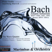 The Wave Quartet - Johann Sebastian Bach  Marimba Concertos (CD)