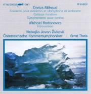 Zivkovic , Nebojsa Jovan - Marimba Concerto von Milhaud (CD)