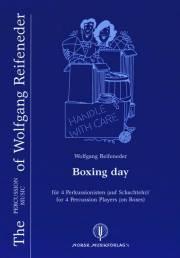Reifeneder , Wolfgang - Boxing Day (スコア・パート譜セット)