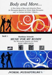 Schmitt , Matthias - Music for My Buddy (スコア・パート譜セット)