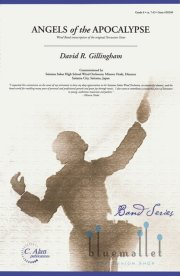 Gillingham , David R. - Angels of the Apocalypse Wind Band transcription of the original Percussion Octet (スコア・パート譜セット) (特価品)
