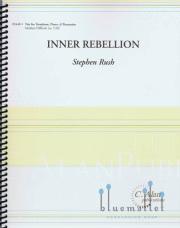 Rush , Stephen - Inner Rebellion -Trombone, Piano, Percussion Trio (スコア・パート譜セット)