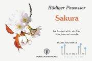 Pawassar , Rudiger - Sakura (スコア・パート譜セット) (特価品)