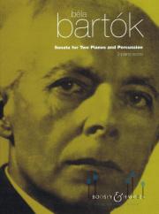 Bartok , Bela - Sonata for Two Piano & Percussion (ピアノ用スコアのみ)
