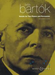 Bartok , Bela - Sonata for Two Piano & Percussion (パーカッションスコアのみ)