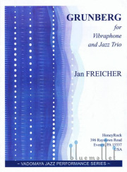 Freicher , Jan - Grunberg for Vibraphone and Jazz Trio (スコア・パート譜セット)(特価品)