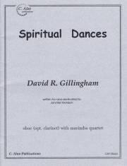 Gillingham , David R. - Spiritual Dances for Oboe with Marimba Quartet (スコア・パート譜セット)