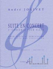 Jolivet , Andre - Suite en Concert Flute & Percussion (パート譜のみ) (特価品)