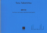 Takemitsu , Toru - Bryce pour Flute, Deux Harpes, Marimba et Percussion