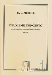 Milhaud , Darius - Deuxieme Concerto (スコアのみ) (特価品)