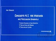 Rosauro , Ney - Concerto No.2 for Marimba and Percussion Ensemble (特価品)