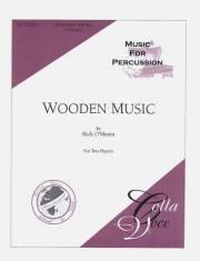 O'Meara , Rich - Wooden Music (スコアのみ2部セット) (特価品)