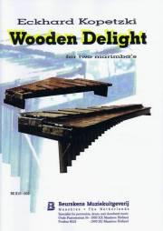 Kopetzki , Eckhard - Wooden Delight (スコア・パート譜セット) (特価品)
